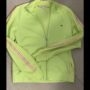 Women's small Tommy Hilfiger track jacket